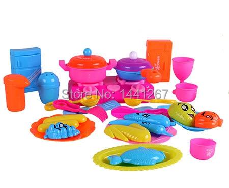 classico giocattolo 27 pzset ragazze bambini cucina simulazione utensili da cucina fornello da cucina