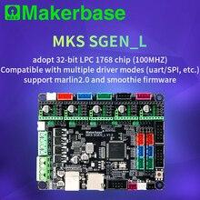 Makerbase MKS SGen_L V1.0 3D מדפסת חלקי 32Bit בקרת לוח אישור TMC2208 TMC2209 TMC2225 uart מצב