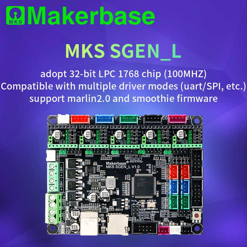 Makerbase MKS SGen_L V1.0 piezas de impresora 3D 32Bit Placa de Control aprobación TMC2208 TMC2209 TMC2225 modo uart