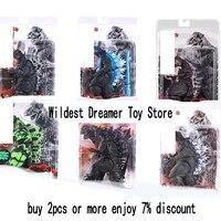 NECA Movie Action Figure Movable doll Model Toy Jongens Kid Kind Speelgoed Anime Cartoon Movie Godzilla Monster Gojira