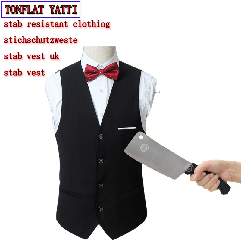 New Summer Men Stab Resistant Concealed Stab Anti-cut Vest Self-Defense Police Stab Tactics Clothing  Protection Cut Resistant