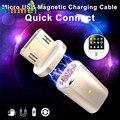 #13 Binmer Горячей Micro USB Магнитный Адаптер Зарядного Устройства Кабель Металлический Штекер Для Android Samsung LG