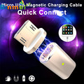 #13 Binmer Hot Micro USB Magnetic Adapter Charger Cable Metal Plug For Android Samsung LG