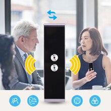 Портативный Умный голосовой переводчик двусторонний перевод в реальном времени многоязычный переводчик фото для обучения путешествию бизнесу