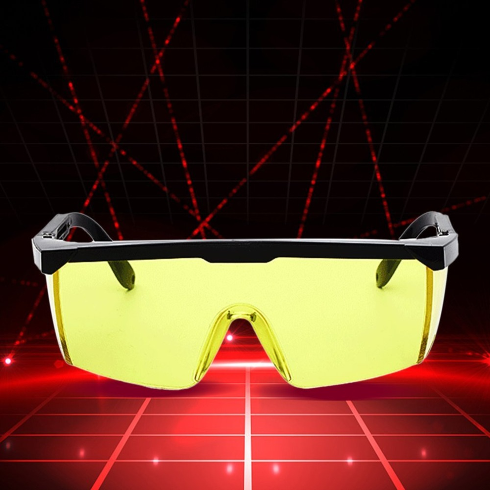 Laser Protective Safety Glasses PC Eyeglass Welding Laser Eyewear Eye Protective Goggles Unisex Black Frame Lightproof Glasses