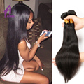 Indian Virgin Hair 4 Bundle Straight Human Hair Raw 7A Unprocessed Virgin Hair Natural Black Color Virgin Indian Straight Hair