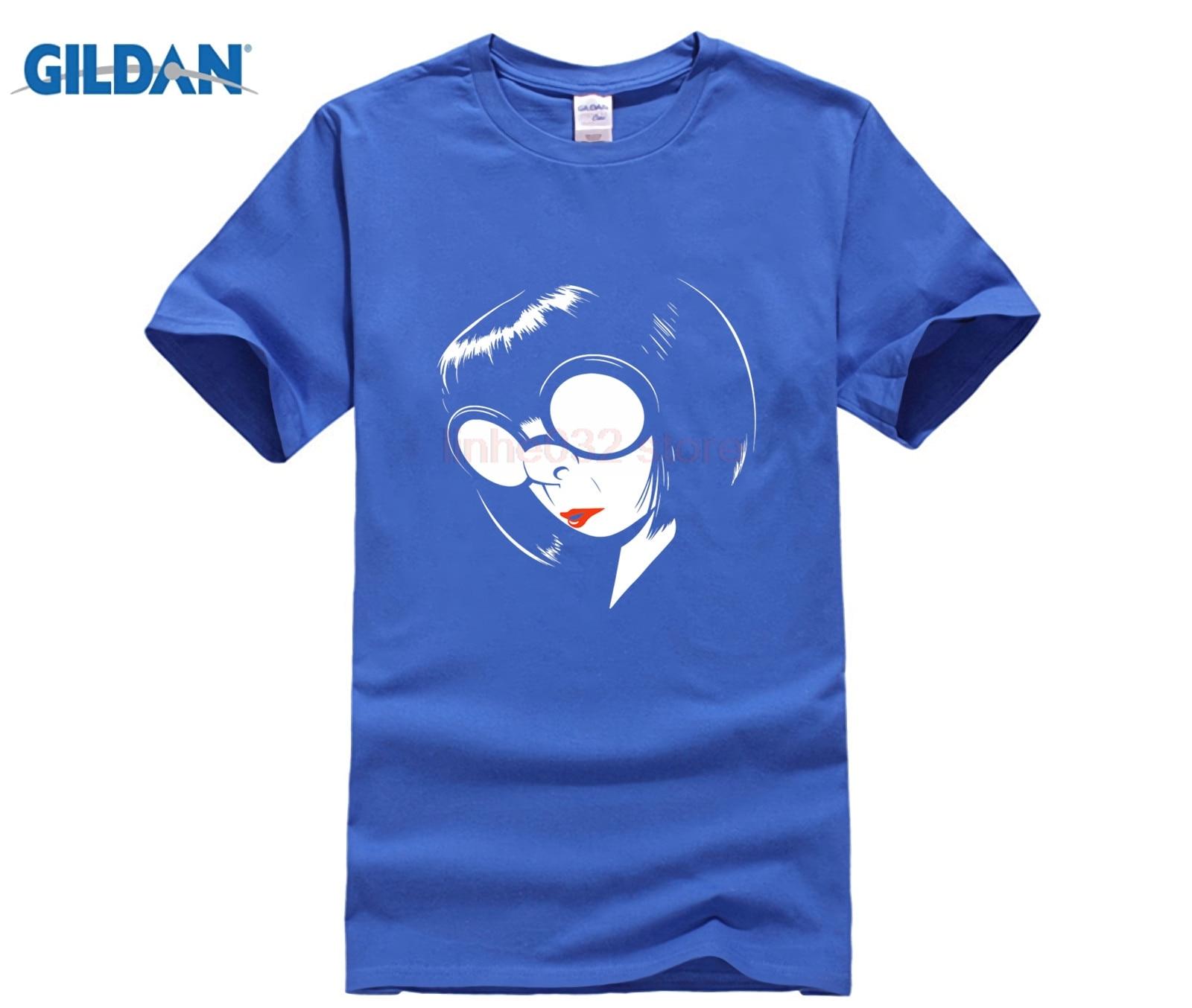 c933689c NEW SHIRT Edna Mode Incredibles 2 T Shirt Men's Harajuku T shirt-in ...