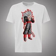 NEW Style 2018 Super Saiyan T-shirt Goku Dragon Ball Z exclusive design Free shipping  Harajuku Tops Fashion Classic