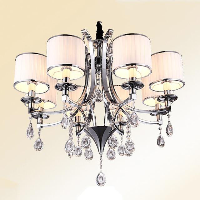 Moderne Cristal En Verre Lustres Lustre Lampe 3 6 8 Lampes Lustres