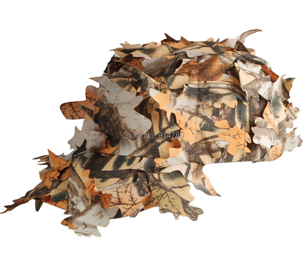 Realtree Camo Hat >> TACTICAL 3D REALTREE CAMO HUNTING AIRSOFT LEAF NET GHILLIE HAT CAP 33839-in Sun Hats from Men's ...