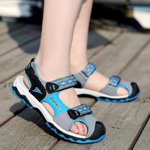 Summer Beach Sandals Kids boys Leather Shoes Casual Sport For Little Boys 2019 Brand