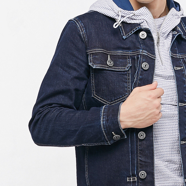 Hot Sale Men Brand Jacket Bomber Denim New European and American Style Supreme Autumn Top Quality
