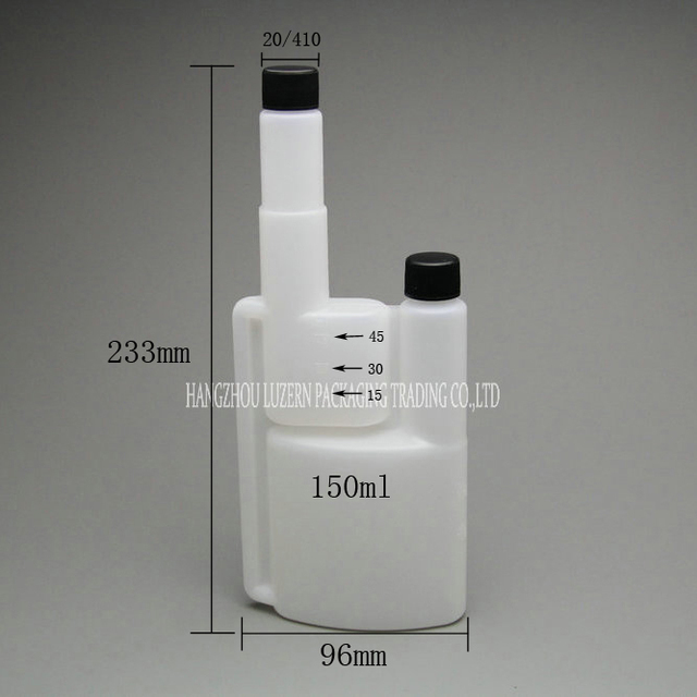 150 Ml Twin Neck Fuel Bottle For Denatured Alcohol