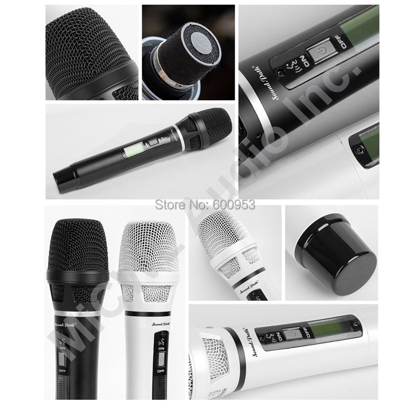 Micwl sp4-skm9000 pro rádio sem fio dj