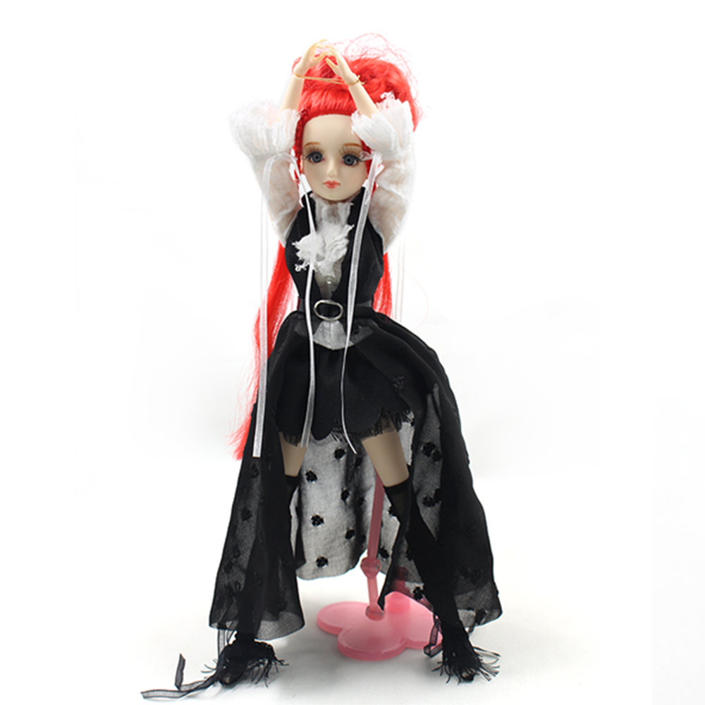 ICY Free shipping BLYTH bjd neo Fortune days fashoin cool doll Xiaojing JOINT body red hair dress box shoes stand toy gift free shipping icy doll joint body natural skin black hair bjd toy gift bl117