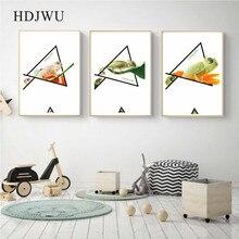 Modern Art Home Decor Canvas Painting Animal Chameleon photography Printing Wall Poster for Living Room  DJ78