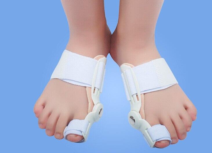 Выпрямитель для большого пальца ноги с шиной, деформация вальгусной деформации, коррекция носка, облегчение боли в ногах, ежедневный ортопедический уход за большим пальцем, 1 шт