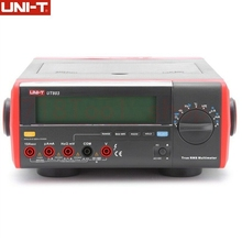 UNI T UT803 Bench Top Digital Multimeter 1000V 10A With RS232C USB Interface Volt Amp Ohm