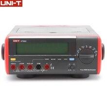 UNI T UT803 Vrai RMS De Bureau Multimètre Gamme Automatique DMM 100 KHZ Tension Amp Ohmmètre Capacité testeur de température interface usb