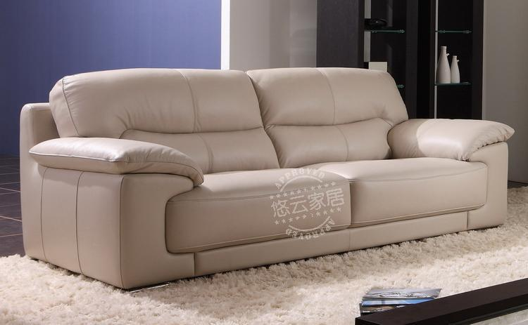 2013 Natuzzi Imported Cow Leather Sectional Sofa Sets