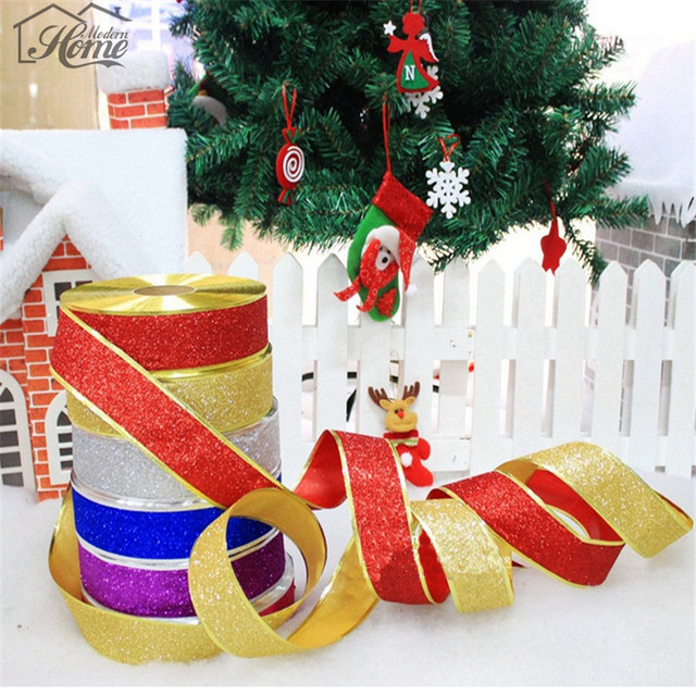 Decorative ribbon 5cm 2m packing material diy bow craft wedding party christmas decoration gift wrapping scrapbooking