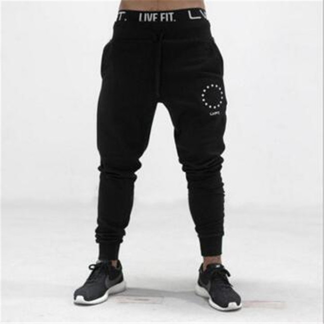 2016 New Mens Joggers Fitness Pants Men Brand Gymshark Bottoms Bodybuilding Sweatpants men pants casual mens business trousers