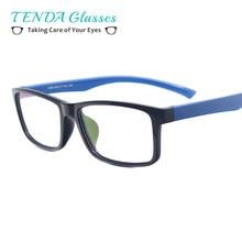 59da1ba1c2 Fashion TR90 Rectangular Glasses Men Lightweight Spectacle For Prescription  Myopia Lenses