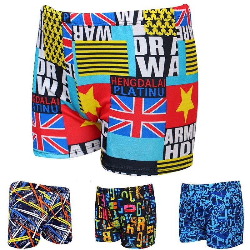 MSSNNG 2019 Swim Trunks Men Multi Print Swimwear Elastic Swimming Trunks Beach Swim Short Briefs Surfing Swimsuit Boxer Shorts