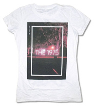 Printed Tee Shirt Crew Neck Short The 1975 Tree Girls Juniors  Tall T For Women