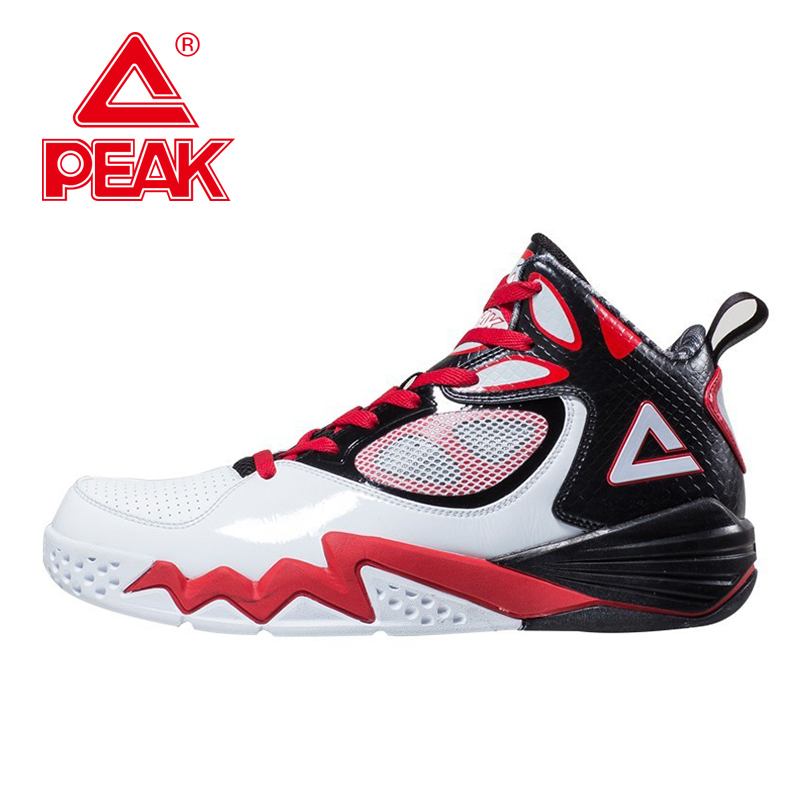 PEAK SPORT Monster II Athletic Shoes Men Basketball Shoes Men Breathable Training Sneakers FOOTHOLD Tech High-Top Ankle Boots peak sport lightning ii men authent basketball shoes competitions athletic boots foothold cushion 3 tech sneakers eur 40 50