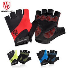 WHEEL UP Cycling Gloves Half Finger Mens Womens Summer Bicycle Guantes Ciclismo MTB Mountain Sports  Mittens