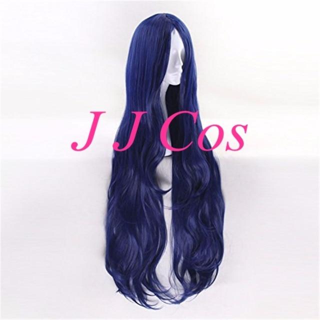 Danganronpa V3: Killing Harmony Tsumugi Shirogane Cosplay Costume Accessory 100cm Long Deep Blue Women Girls' Party Party Hair