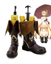 New Tales of Zestiria Edna Cosplay Boots Anime Shoes Custom Made
