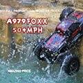 WLtoys RC coche 2.4G de alta calidad 1:18 RC 4WD SPEED RACER de Escala completa de Control Remoto de Coches RC Monster Truck con Sistema de Choque 50 KM/H