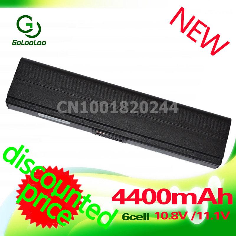 Golooloo 4400mAh Laptop Battery Power For Asus F6E F6A F6K F9DC F9E F6 F9F F6K54S-SL Z53 A31-F9 A32-F9 F9J A32-F9
