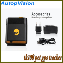 Newest Personal&Pet Caring TK108 GPS Tracker with Real Waterproof Function 5Pcs/Lot Free DHL Shipping
