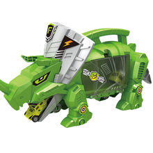 Dinosaur Model Toys For Kids Educational Vehicles Toy Car Action Figure Kid's gift Constructor Model Kit Toys for Children(China)
