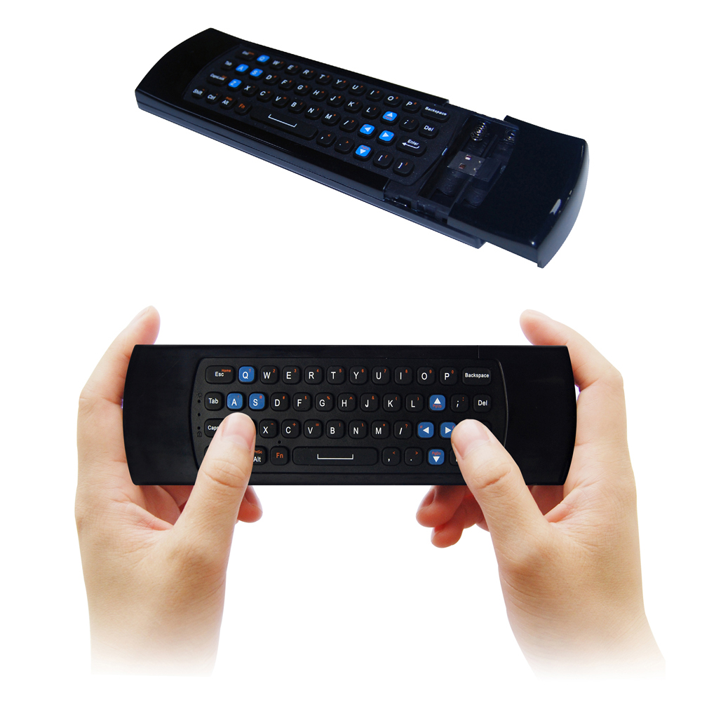 2.4G Mini Wireless Air Mouse with Wireless Receiver Multifunction Keyboard Mouse Infrared Remote Control Unit for Android TV
