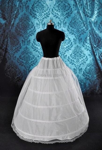 2016 высокое качество свадебное платье свадебное платье 5-hoop петтикоты
