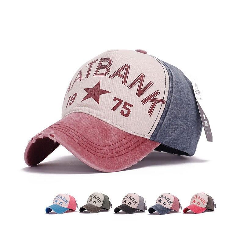2015 Vintage gorras planas Casquette Vogue Hip Hop Sports cotton cap retro Baseball Caps Chapeu Outdoor golf bone Casual hats