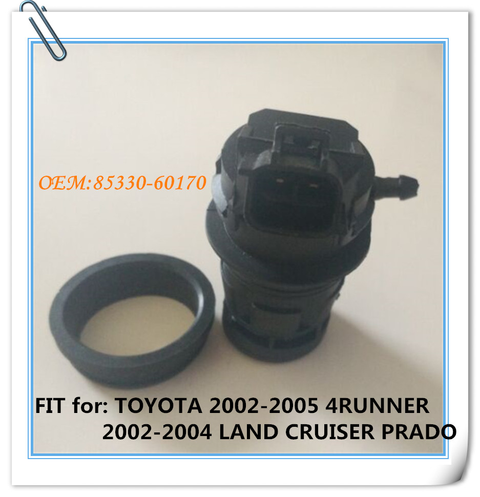 FIT for: TOYOTA 2002-2005 4RUNNER 2002-2004 LAND CRUISER PRADO Windshield windscreen washer motor washer pump ASSY 85330-60170