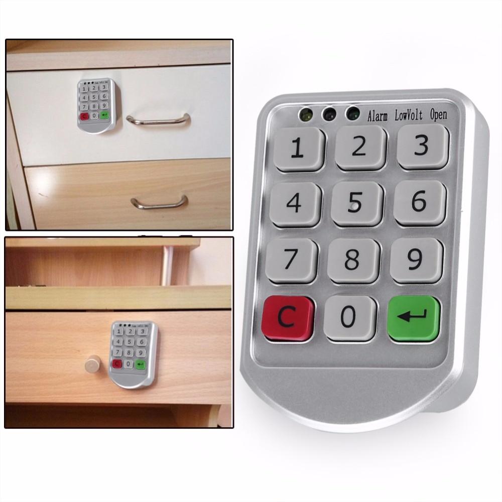 WALFRONT Intelligent Door Code Lock Digital Password Keypad Number Cabinet Door Code Lock Zinc Alloy and Plastic Cabinet Lock-in Locks from Home Improvement ...  sc 1 st  AliExpress.com & WALFRONT Intelligent Door Code Lock Digital Password Keypad Number ...