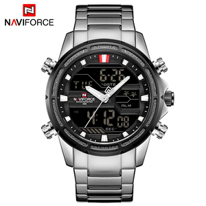 Image 5 - NAVIFORCE Men Watches Sports Quartz Digital Mens Clock With Box Set For Sale Male Military Waterproof Watch Relogio Masculino