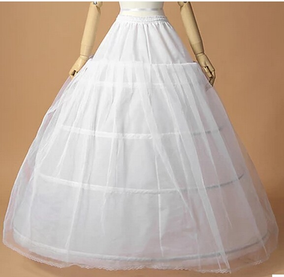 4 Ring Big Petticoat for ball gown wedding dress