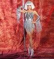 Female Singer Clothing  Dancers  Clothing  Dj Tassel Paillette Costumes  Nightclub Bar Stage Costumes Jazz clothing