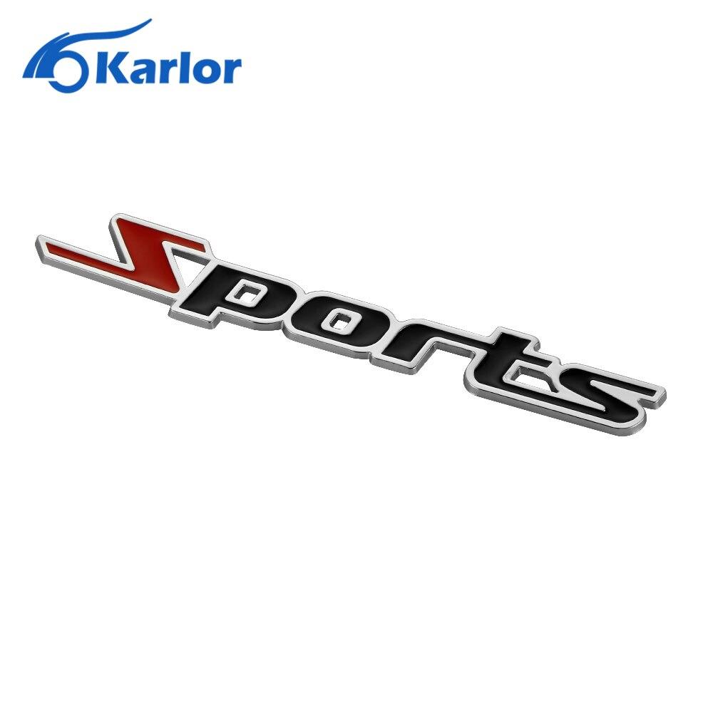 3d metal sports emblem car truck motor sticker auto decal car styling for chevrolet cruze