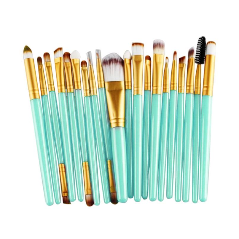 New 20 pcs Makeup Brush Set tools Wool Make Up Brushes Foundation Brush Women Beauty 2016