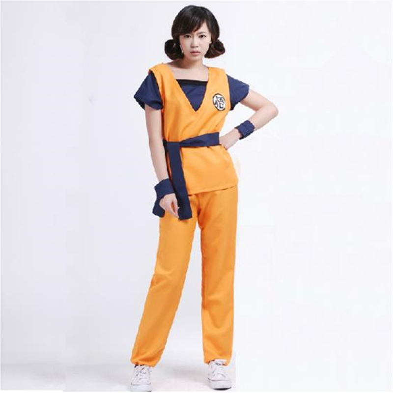 Classic Japanese Anime Dragon Ball Dragon Ball Halloween Cosplay Costume Adult Men & Women Dragon Ball Wukong Cosplay Costume