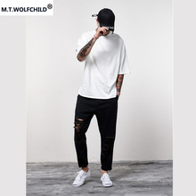 Hot sale Mens t-shirts mens O-neck short sleeve t-shirts casual tees cotton men's clothing tops personality solid color t-shirts