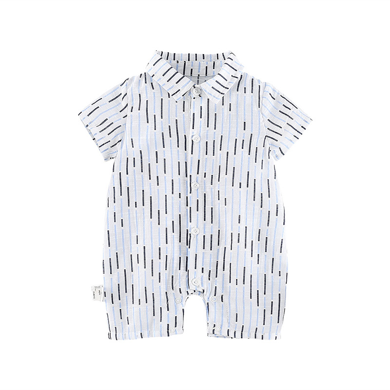 цены Fashion summer southeast Asian style short sleeve infant bodysuit MD180X080